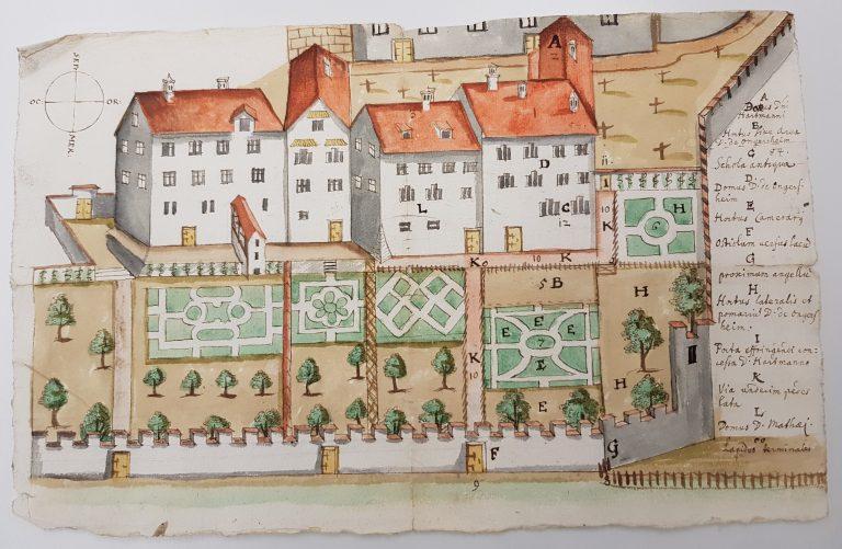 URK C37_Plan Klostergärten